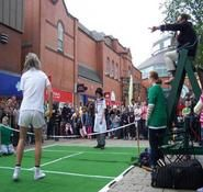 Entertainmnet for tennis themed events in London and the UK