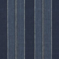 East Indies Stripe - Indigo - Stripes - Fabric - Products - Ralph Lauren Home - RalphLaurenHome.com