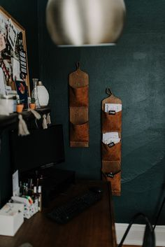 My Top 10 Home Office Essentials for a Beautiful & Functional Workspace  Hanging Office Storage | Miranda Schroeder Blog  www.mirandaschroeder.com