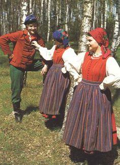 Polish folk costumes (from Sieradz)
