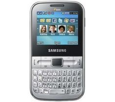 Celular Samsung C3222 Prata / Dual Chip / Qwerty / 1.3MP / 2GB / Bluetooth / MP3 - Por R$ 279,00