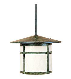 Arroyo Craftsman Berkeley 1 Light Pendant in Raw Copper Outdoor Hanging Lanterns, Outdoor Lighting, Outdoor Decor, Craftsman House Numbers, Gustav Stickley, Pendant Lighting, Light Pendant, Patina Finish, Tudor Style