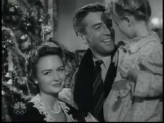 Vintage Christmas Television ~ 'It's A Wonderful Life' ~ Auld Lang Syne (1946)