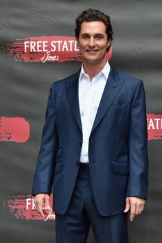 """Actor Matthew McConaughey attends the photo call for STX Entertainment's """"Free State Of Jones"""" at Four Seasons Hotel Los Angeles at Beverly Hills on May 11, 2016 in Los Angeles, California."""