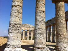 Segesta Greek temple a 25 minute drive from Trapani, Sicily www.tuscanytennis.com