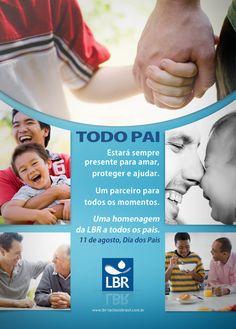 LBR - Anúncio Dia dos Pais.