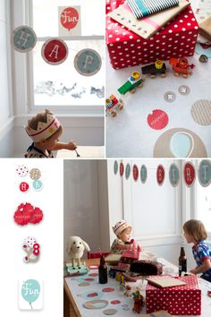 cute birthday party with minted party accessories Boy First Birthday, Birthday Balloons, First Birthday Parties, Kid Parties, Birthday Ideas, Party Time, Party Party, Childrens Party, Party Gifts