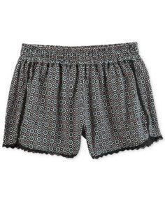 Carter's Geo-Print Cotton Shorts, Little Girls (2-6X) - Black 6X