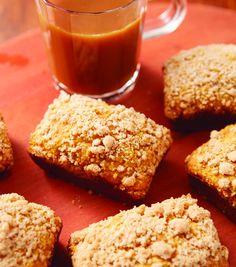 Pumpkin Crumble Mini Loaves
