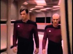 Picard and Riker being cooler than everything for 10 hours