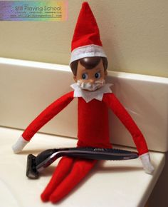 21 Easy, Hassle-Free Elf On The Shelf Ideas