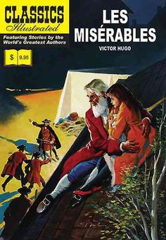 Victor Hugo's novel of early 19th Century France, as told through the experiences of the ex-convict, Jean Valjean. Classics Illustrated tells this wonderful tale in colorful comic strip form, providin