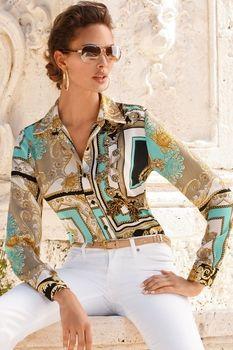 Status print shirt in Trend 2013 from Boston Proper on shop.CatalogSpree.com, my personal digital mall.