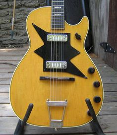 Slingerland Guitars   Vintage Harmony Roy Smeck Stratotone Electric Guitar   Harmony Guitar
