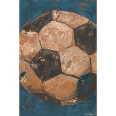 Be the Ball Soccer art by Aaron Christensen  Alexs New Room