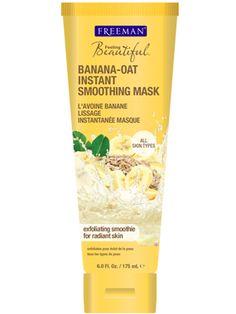 Banana-Oat Instant Smoothing Mask