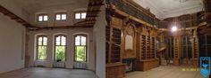 Całkowita rekonstrukcja biblioteki Hendlowskiej w Pałacu w Rogalinie przeprowadzona przez naszą stolarnię pkzwawel.pl