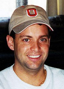 "Todd Beamer, passenger on United Flight 93, a plane overtaken by the 9/11 attack highjackers.  He communicated with officials on the ground and helped lead a group of passengers to take over the plane.  It eventually crashed in Pennsylvania. Last audible words: ""Are you guys ready? Let's roll."""