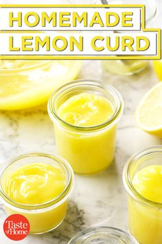 You think I'm kidding? You will never, ever, buy the ready-to-make box of pseudo-lemon bars again. This one is The BEST Freaking Lemon Bars on Earth! Lemon Desserts, Just Desserts, Health Desserts, Lemond Curd, Curd Recipe, Recipe For Lemon Curd, Lemon Curd Uses, Easy Lemon Curd, Lemon Custard