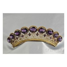 Bijoux and baubles Crowns, Tiaras Diadems ❤ liked on Polyvore featuring accessories, hair accessories, crown, tiara crown, crown tiara, crown hair accessories, antique hair accessories and antique tiara