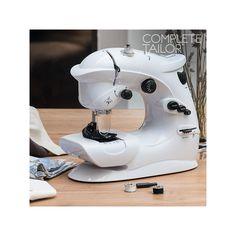 Máquina de Coser Complete Tailor - 32,15 €  ¿Necesitas una máquina de coser portátil? ¡Te presentamos la cómoda y manejablemáquina de coser Complete Tailor! Idealpara realizar arreglos de costura, refuerzos y dobladillos con...  http://www.koala50.com/ideas-para-el-hogar/maquina-de-coser-complete-tailor