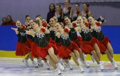 #Neuchatel Junior World Challenge 2014, A photo collection of Synchronized Skating Dresses to use for inspiration Sk8 Gr8 Designs.