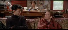 """""""Where do you get this hostility from?"""" Empire Records - Allan Moyle"""