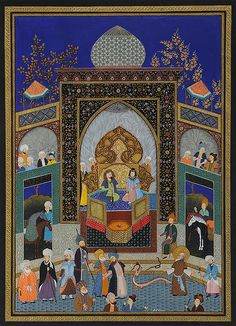 Official Web Site of Artist Haydar Hatemi - Turkish and Persian Art | STORIES OF THE MESSENGERS