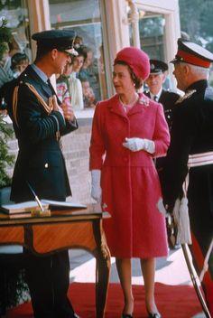 Prince Philip & Queen Elizabeth II, 1968.
