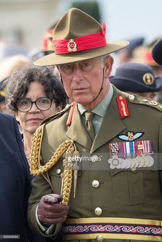 Prince Charles, Prince of Wales, Field Marshal of the New Zealand Army, attends…