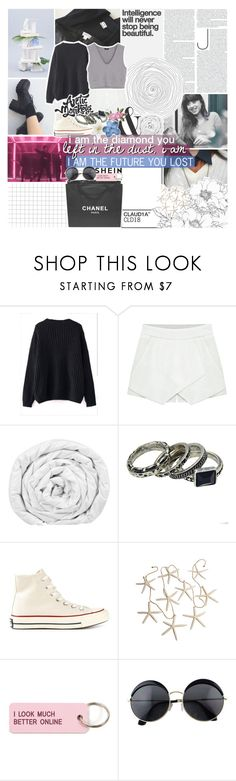 """try to live the dream on a wider scene"" by kristen-gregory-sexy-sports-babe ❤ liked on Polyvore featuring GET LOST, WithChic, Brinkhaus, Chanel, Converse, Various Projects, Clips and vintage"