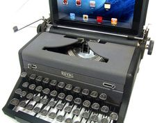USB Typewriter Computer Keyboard  Royal c 1940 by usbtypewriter, $699.00