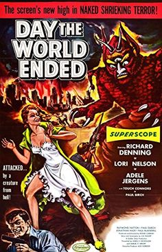 'The Day The World Ended' - Fantastic A4 Glossy Print Taken From A Vintage Movie Poster by Design Artist http://www.amazon.co.uk/dp/B00UH1G7LI/ref=cm_sw_r_pi_dp_QR1jvb02RR80K