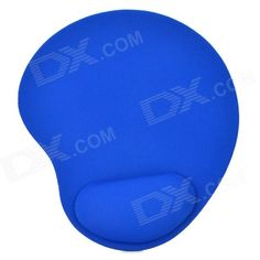Color: Blue + Black; Brand: N/A; Model: 11H01; Quantity: 1 Piece; Material: Cloth + EVA; Other Features: Wrist support design, comfortable to use; Packing List: 1 x Mouse pad; http://j.mp/1ljU2be