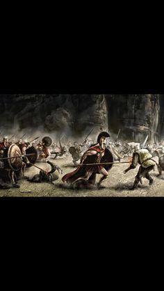 300 Spartan Warriors With Spears Shield Silk Canvas Fabric Poster Print Movie Wallpaper Home Decoration Spartan Military, Spartan Women, Spartan Warrior, Viking Warrior, Army History, Greek History, Ancient History, National Geographic History, Ancient Sparta