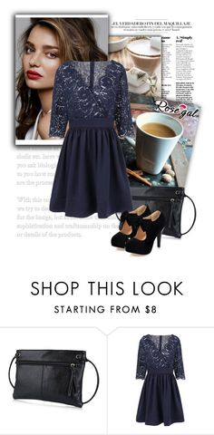 """""""Glamorous outfit for women"""" by emily-5555 ❤ liked on Polyvore featuring vintage"""