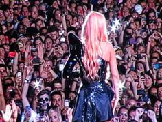 """Lady Gaga made history being the first female act to perform in """"Soccer City"""" Stadium in Johannesburg, South Africa!  Having been excited since she arrived in South Africa, Lady Gaga performed to a record setting 90,000 monsters!  Soccer city is the 14th largest stadium in the world!  Enjoy these photos of Lady Gaga in South Africa on her Born This Way Ball Tour (November 30, 2012)."""