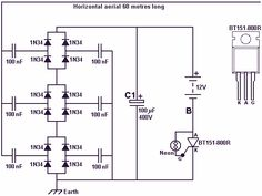 Free energy battery charger - schematic