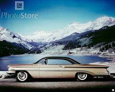 1960 Oldsmobile Ninety-Eight Holiday Coupe