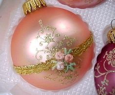 Vintage Christmas Ornament ~ OMGosh ~ I LOVE this!