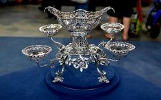 1765 Thomas Pitts Silver Epergne  $15,000 Auction  –  $50,000 Insurance