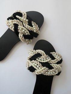 DIY Chanel Slides