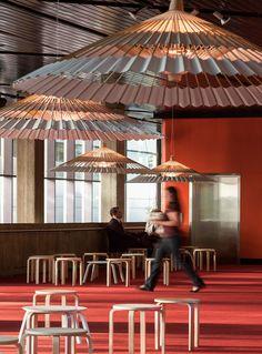 higasa umbrella light by facet studio