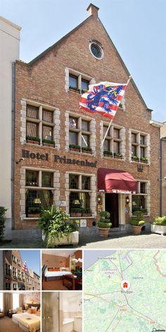 Este hotel romântico situa-se numa rua tranquila perto de uma das mais importantes ruas comerciais de Bruges. Localiza-se centralmente a cerca de 3 minutos a pé da praça central. Os hóspedes irão encontrar uma série de bares, restaurantes e animação nocturna em apenas alguns metros e todas as atracções turísticas de Bruges em apenas alguns passos. A apenas 100 m existem ligações à rede de transportes públicos e até ao aeroporto de Bruxelas são cerca de 100 km.