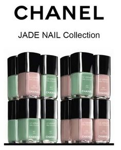Chanel Le Vernis Jade Collection
