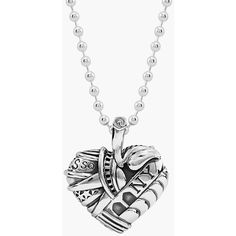 Women's Lagos 'Hearts Of Lagos - New York' Reversible Pendant Necklace (295 AUD) ❤ liked on Polyvore featuring jewelry, pendants, necklaces, heart of new york, pendant necklace, lagos, heart jewelry, charm pendant and heart pendant necklace