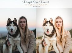 Bright sun, warm Lightroom Preset by PHOTOPRESET on @Graphicsauthor