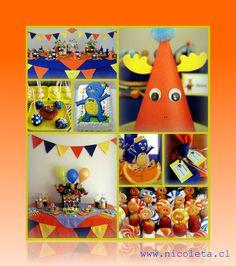 Backyardigans birthay party - www.nicoleta.cl