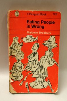 Eating people is wrong funny book title Vintage Book Covers, Vintage Ads, Vintage Books, Creepy Vintage, Antique Books, Books To Read, My Books, Typographie Inspiration, Film Music Books