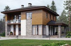 Facades, Exterior Design, House Plans, Farmhouse, House Design, How To Plan, Mansions, House Styles, Garden